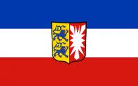 Fahne Schleswig-Holstein 1,20x2,00m mit Wappen