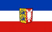 Fahne Schleswig-Holstein 1,00x1,50m mit Wappen